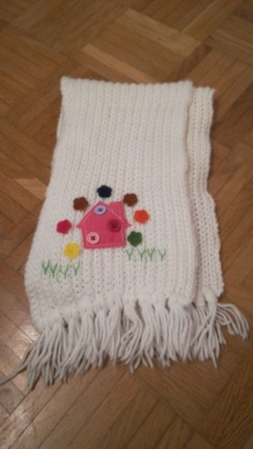 You&Me Fashion Tube Scarf natural white