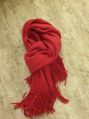 Pieces Bufanda de lana magenta