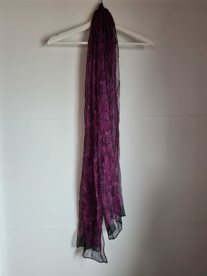 diverse Écharpe d'été noir-violet