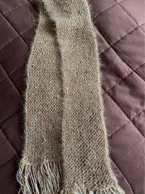 Sciarpa di lana oro
