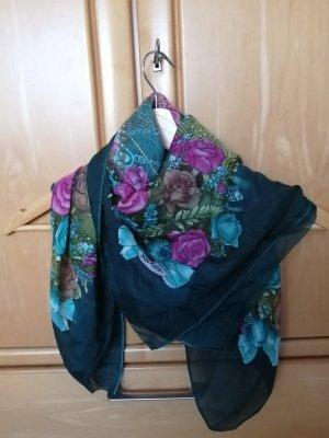 Bufanda de seda multicolor