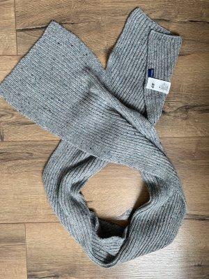 H&M Bufanda de punto gris-gris claro