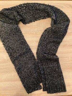 Galeries lafayette Bufanda de lana blanco-negro
