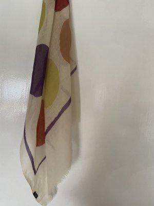 unknown Bufanda de seda multicolor