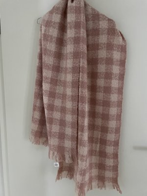 aus Italien Fringed Scarf dusky pink-pink