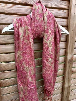 Accessorize Chal veraniego color oro-rosa