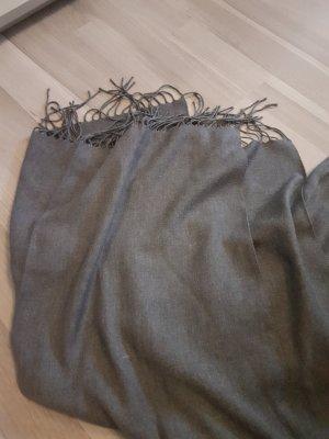 Codello Écharpe à franges gris foncé