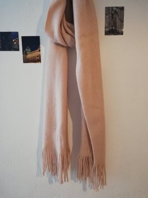 Asos Sjaal met franjes stoffig roze-rosé