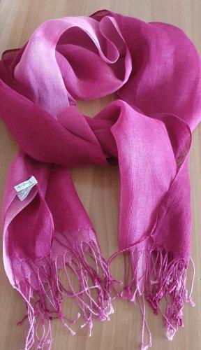 Schal aus Leinen