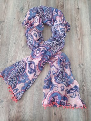 Atmosphere Summer Scarf light pink-blue violet