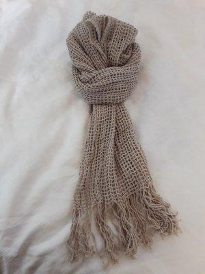 Sjaal licht beige-beige
