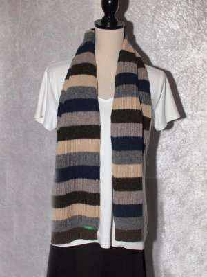 Benetton Woolen Scarf multicolored