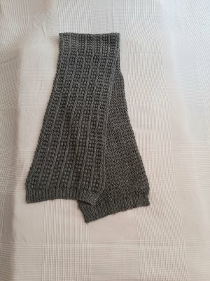 Bershka Bufanda de lana gris antracita