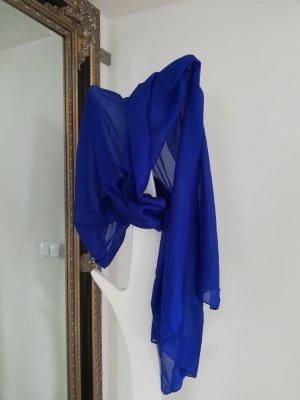 Écharpe d'été bleu