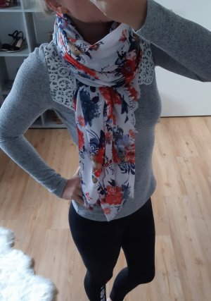 Orsay Fringed Scarf multicolored