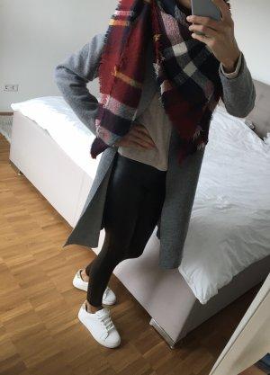 Zara Sciarpa di lana bianco-rosso
