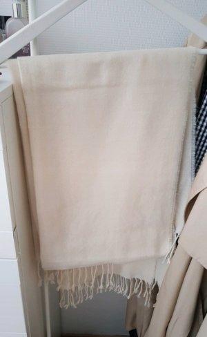 H&M Bufanda de lana beige claro