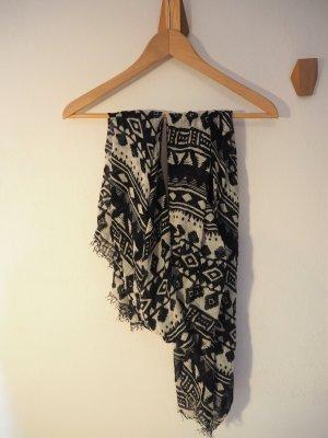 Pimkie Knitted Scarf black-white