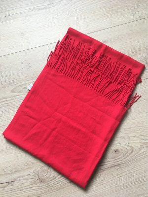 Codello Fringed Scarf red