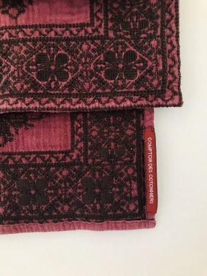 Comptoir des Cotonniers Bufanda de lana negro-lila grisáceo