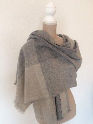 COS Wollen sjaal lichtgrijs-grijs