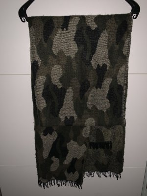 H&M Woolen Scarf multicolored