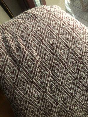 Only Woolen Scarf white-brown violet