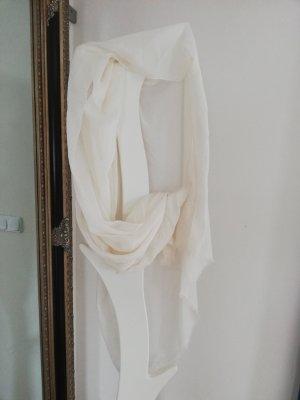 Écharpe d'été blanc cassé-crème
