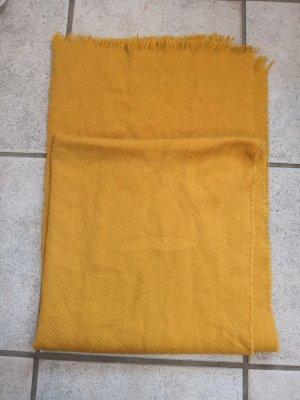 H&M Bufanda de lana naranja oscuro