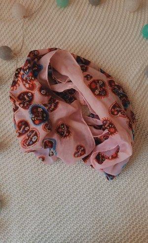 Manguun Écharpe ronde multicolore polyester