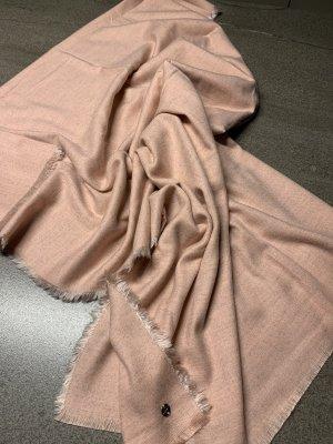 Esprit Bufanda de lana rosa empolvado Viscosa