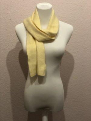 Écharpe en cachemire jaune
