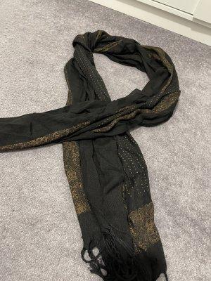 Bufanda de cachemir negro