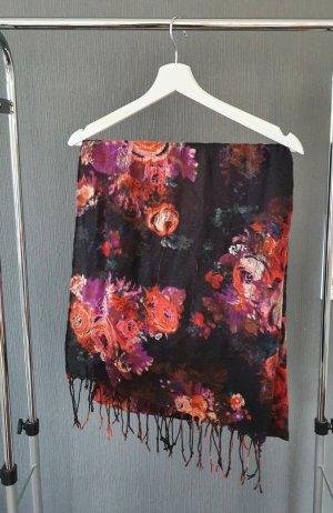 Schal geblümt/floral