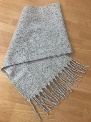 Bijou Brigitte Fringed Scarf light grey