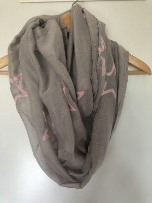Tube Scarf grey-pink