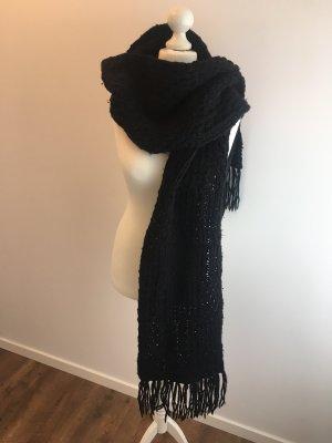 Roeckl Écharpe en tricot noir