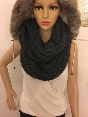 Tube Scarf anthracite
