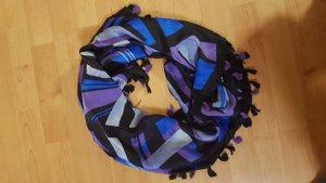 Passigatti Sciarpa di seta multicolore