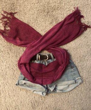 Pañoleta rojo zarzamora-burdeos
