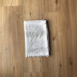 Atmosphere Sjaal met franjes wit-lichtgrijs