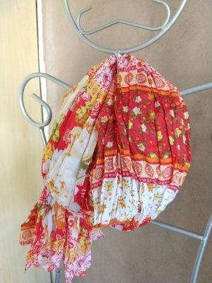 Schal - Halstuch im Knitterlook