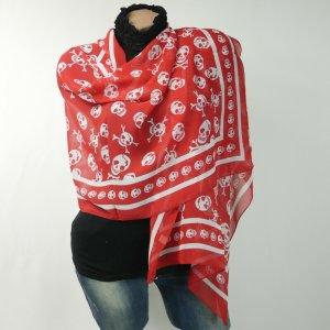 Unbekannte Marke Chal veraniego rojo-blanco Poliéster