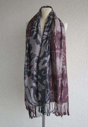 Bonita Châle au tricot multicolore