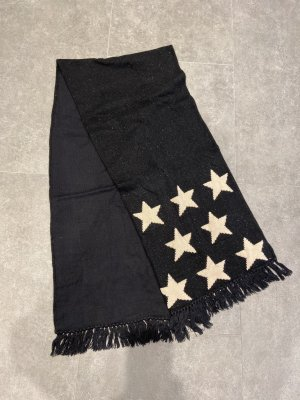 Hilfiger Denim Knitted Scarf black-cream