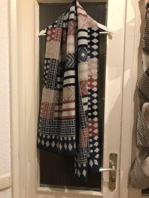 Gina Wollen sjaal veelkleurig Acryl