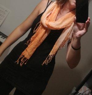 Schal in Orange