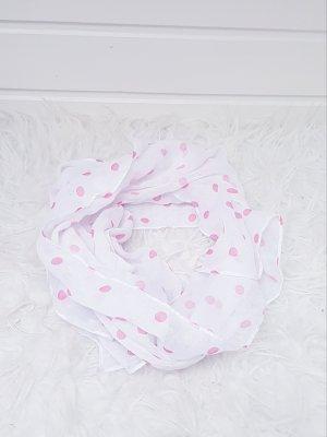 Yves Rocher Szal letni biały-różowy