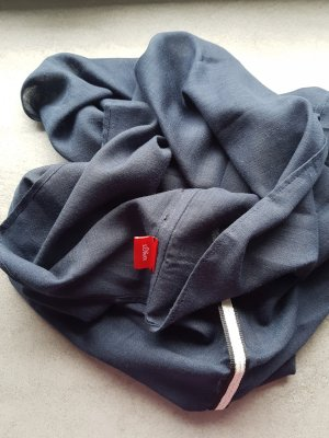 s.Oliver Tube Scarf dark blue