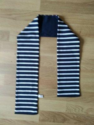 Schal Marineblau Weiß 117x13 cm